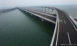 Морской мост в Китае – самый длинный в мире