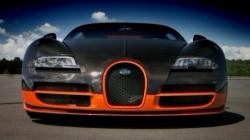Самые быстрые авто машины серии спорт кар Bugatti Veyron SuperSport.