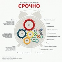 """Поисковик """"Яндекс"""" со словом «срочно» для  россиян чаще   ищет  деньги"""
