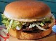 Первый гамбургер из искусственного мяса - предложили англичанам