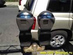 Автоматы парковочных мест в Америке