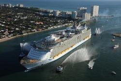 Самый большой в мире океанский лайнер