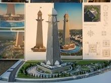 Чечня представила   проект самого высокого небоскреба Европы