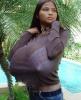 Самая большая натуральная  женская грудь