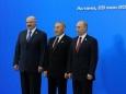 Главы России, Белоруссии и Казахстана подписали договор о создании ЕАЭС