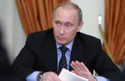 Путин просит отменить разрешение ввести войска на Украину
