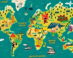 Иллюзия величия: как в реальности должна выглядеть Россия на карте мира