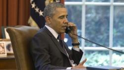 Обама и Олланд обсудили ситуацию в восточной Украине